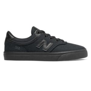 New Balance Numeric 255 - Kids Sneakers - Black/Black Caviar