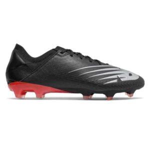 New Balance Furon v6 Pro Leather FG - Mens Football Boots - Black/Neo Flame/Neo Crimson