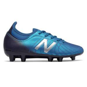 New Balance Tekela v2 Magique FG - Kids Football Boots - Vision Blue/Neo Classic Blue/Team Navy