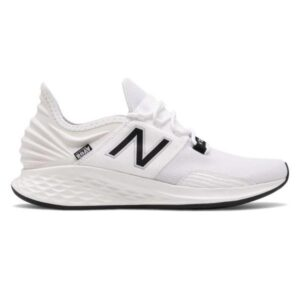 New Balance Fresh Foam Roav - Mens Running Shoes - White/Black
