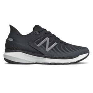 New Balance Fresh Foam 860v11 - Womens Running Shoes - Black/White/Lead