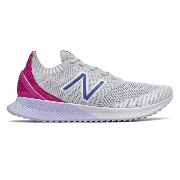 New Balance FuelCell Echo - Womens Running Shoes - Grey/Magenta/Violet