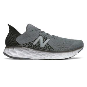 New Balance Fresh Foam 1080v10 - Mens Running Shoes - Grey/Black/White