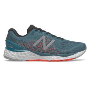 New Balance Fresh Foam 880v10 - Mens Running Shoes - Steel Blue/Red