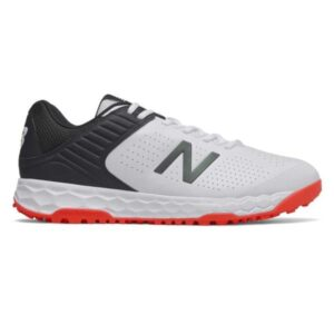 New Balance Fresh Foam 4020v4 - Mens Cricket Shoes - White/Black/Red