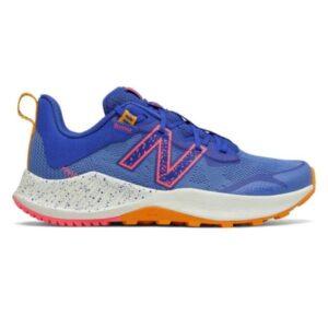 New Balance Nitrel v4 - Kids Trail Running Shoes - Faded Cobalt/Guava/Orange