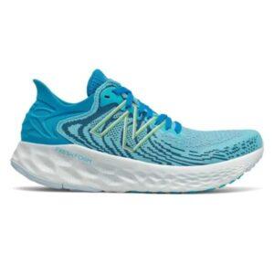 New Balance Fresh Foam 1080v11 - Womens Running Shoes - Virtual Sky/Bleached Lime Glo