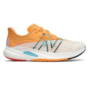 New Balance FuelCell Rebel v2 - Mens Running Shoes - White/Habanero