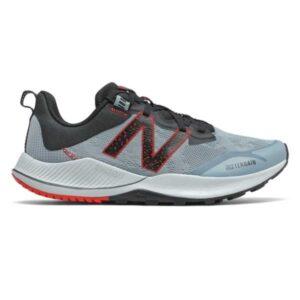 New Balance Nitrel v4 - Mens Trail Running Shoes - Grey/Red/Black