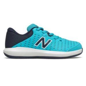 New Balance 696v4 - Kids Tennis Shoes - Virtual Sky/Black