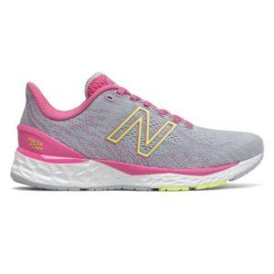 New Balance Fresh Foam 880v11 - Kids Running Shoes - Silver/Pink