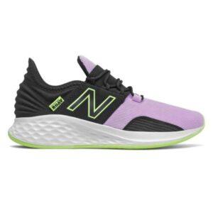 New Balance Fresh Foam Roav - Kids Sneakers - Black/Purple