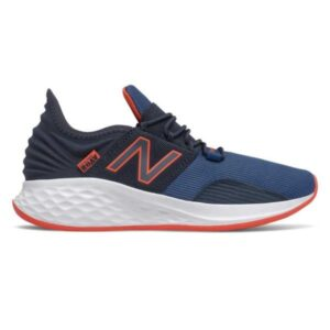 New Balance Fresh Foam Roav - Kids Running Shoes - Navy/Red