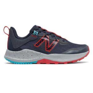 New Balance Nitrel v4 - Kids Trail Running Shoes - Navy/Red
