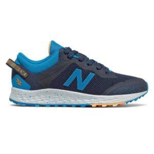 New Balance Fresh Foam Arishi Trail - Kids Trail Running Shoes - Natural Indigo/Wave Blue