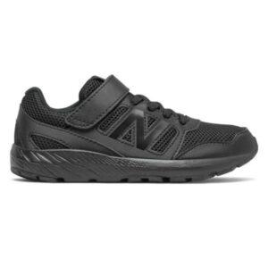 New Balance 570v2 Velcro - Kids Running Shoes - Triple Black