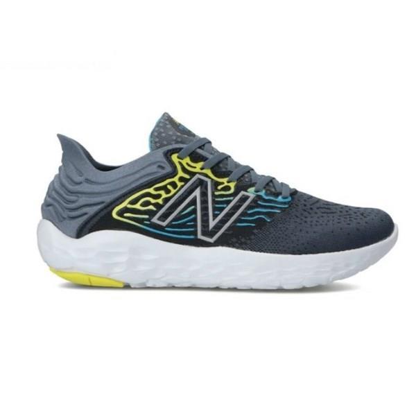 New Balance Fresh Foam Beacon v3 - Mens Running Shoes - Grey