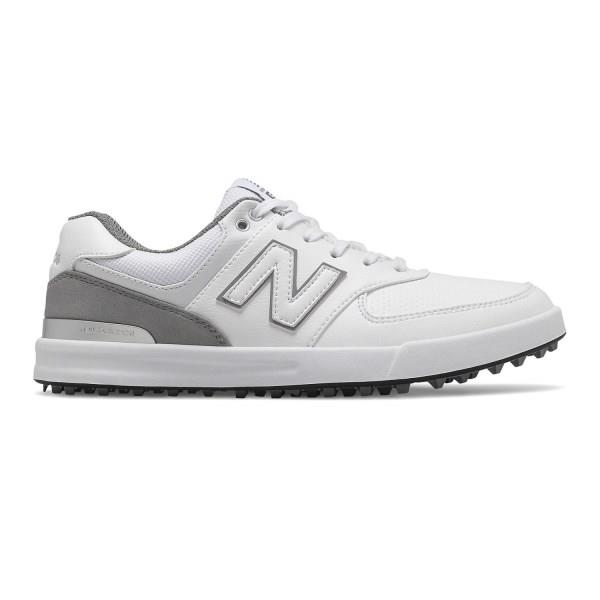 New Balance 574 Greens - Womens Golf Shoes - White/Grey