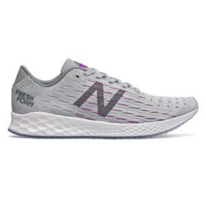 New Balance Fresh Foam Zante Pursuit - Womens Running Shoes - Grey/Purple
