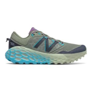 New Balance Fresh Foam More Trail v1 - Womens Trail Running Shoes - Celadon/Virtual sky