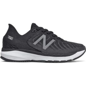 New Balance Fresh Foam 860v11 - Kids Running Shoes - Black/White