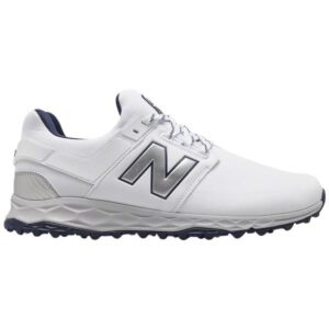 New Balance Fresh Foam Links SL - Mens Golf Shoes - White/Navy