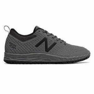 New Balance Slip Resistant Fresh Foam 806 - Mens Work Shoes - Grey/Black