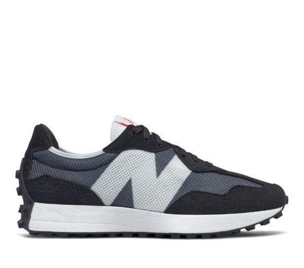 New Balance Mens 327 Black (001)
