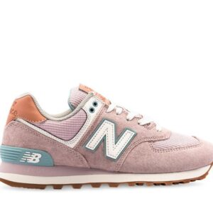 New Balance Womens 574 Space Pink