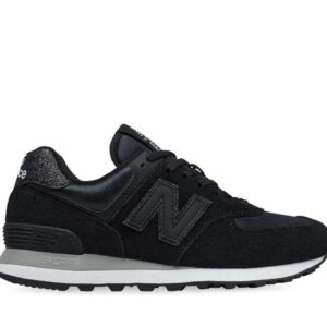 New Balance Womens 574 Black