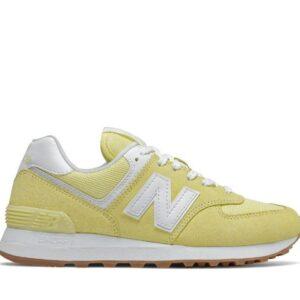New Balance Womens 574 Yellow (720)