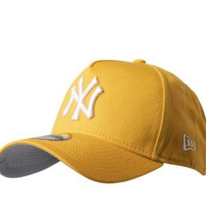 New Era Mens NY Yankees 9Forty Baseball Cap A Gold