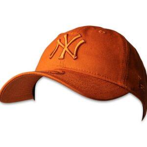 New Era Mens 9Twenty NY Yankees Baseball Cap Burnt Orange