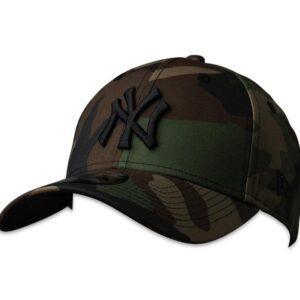 New Era 9FortyCS NY Yankees Cap Woodland Camo