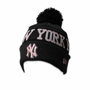 New Era NY Yankees Knit Beanie Graphite