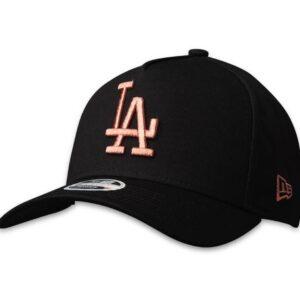 New Era 9FORTY LA Dodgers Cap Rose Gold Hit