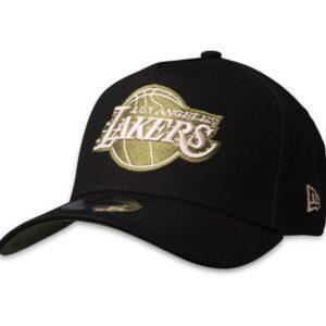 New Era 9FORTY LA Lakers Cap Black