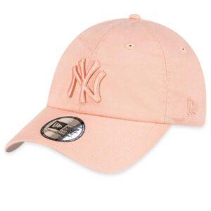 New Era NY Yankees Curved Peak Cap Pink