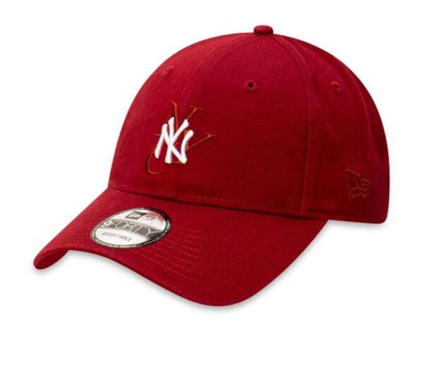 New Era 9FortyCS NY Yankees Cap Dark Red