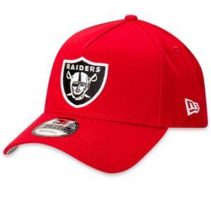 New Era 9FORTY Raiders Cap Red