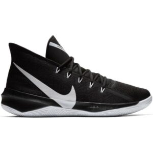 Nike Zoom Evidence III - Mens Basketball Shoes - Black/White