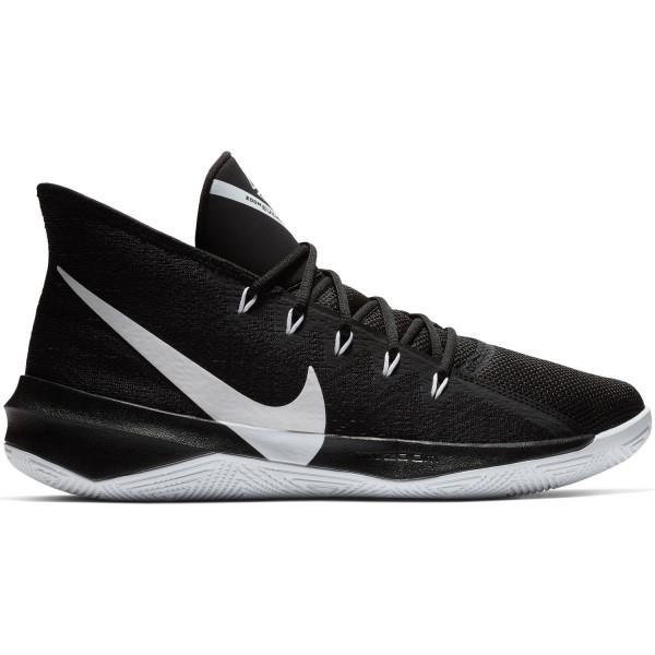 Nike Zoom Evidence III - Mens Basketball Shoes - Black/White