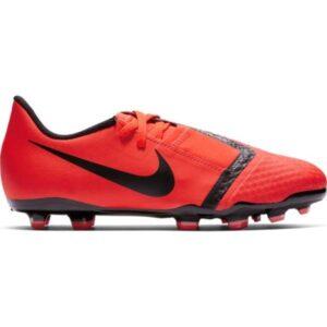 Nike Jr Phantom Venom Academy FG - Kids Football Boots - Bright Crimson/Black