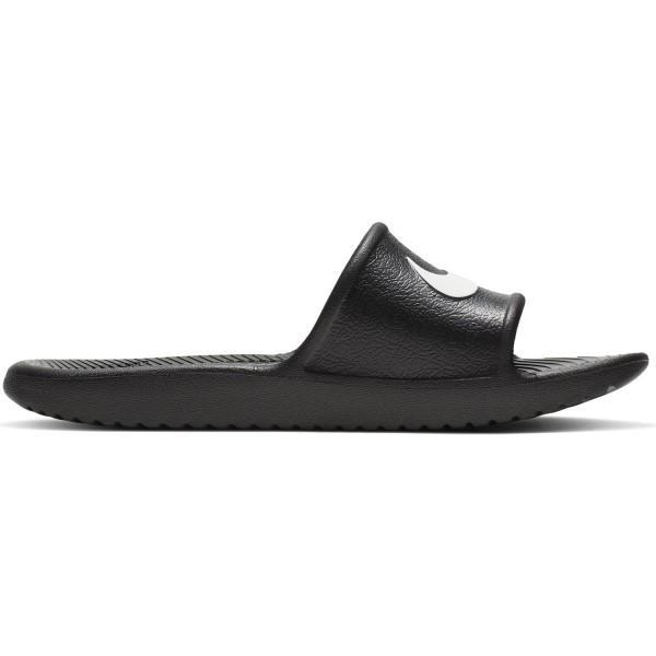 Nike Kawa Shower GS/PS - Kids Slides - Black/White