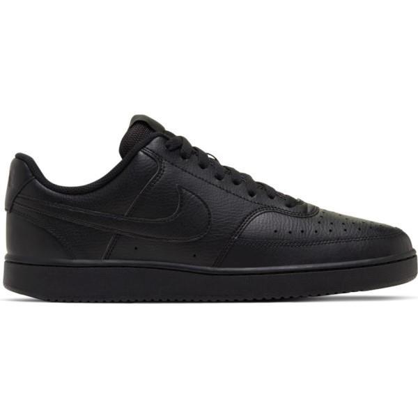 Nike Court Vision Low - Mens Sneakers - Triple Black