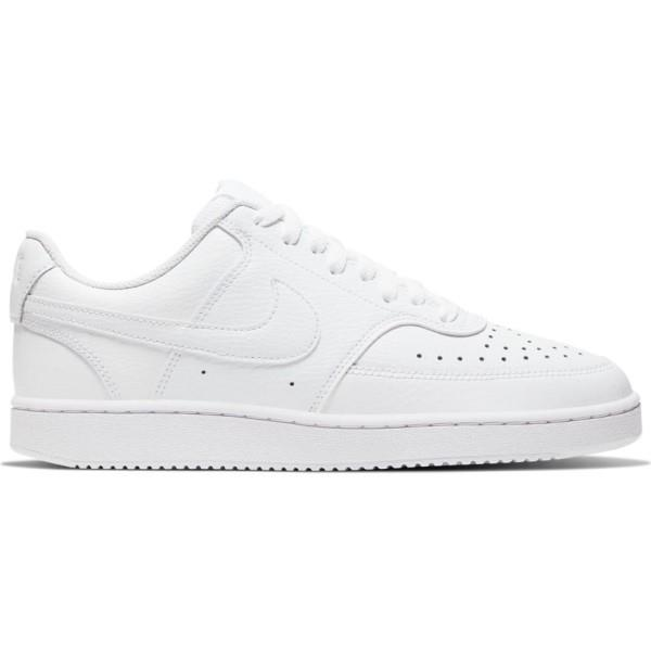 Nike Court Vision Low - Womens Sneakers - Triple White