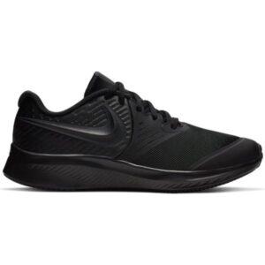 Nike Star Runner 2 GS - Kids Running Shoes - Triple Black