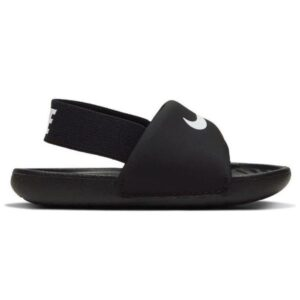 Nike Kawa Slide TD - Toddler Slides - Black/White