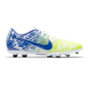 Nike Vapor 13 Club NJR FG/MG - Mens Football Boots - White/Racer Blue/Volt/Black
