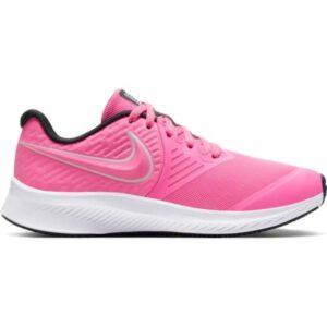 Nike Star Runner 2 GS - Kids Running Shoes - Pink Glow/Photon Dust/Black/White